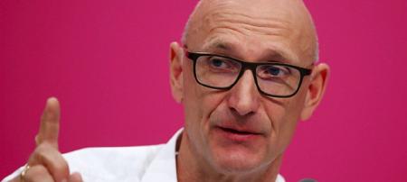Telekom-Chef Timotheus Höttges Bild: dpa